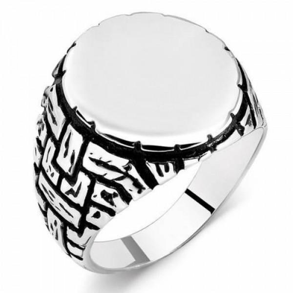925 Ayar Gümüş Çukur Dizisi Yamaç Yüzüğü ...