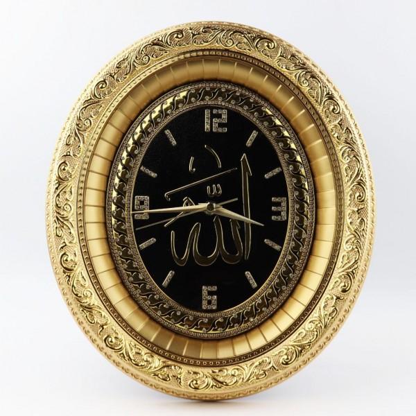 Büyük Boy Siyah Masa & Duvar Saati