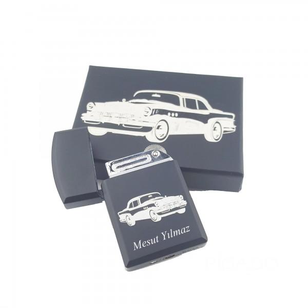 İsma Kişiye Özel Nostaljik Klasik Arabalar Temalı Gazlı Çak...