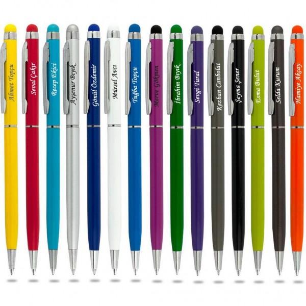 İsme Kişiye Özel İnce Model Tükenmez Kalem
