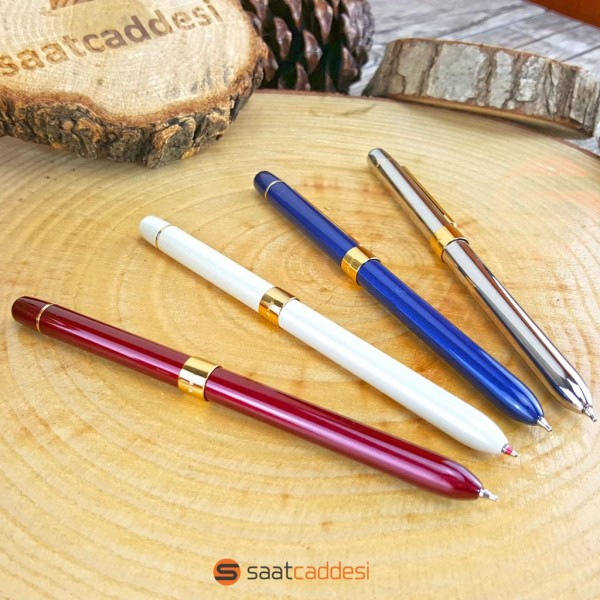 İsme Özel 3 Fonksiyonlu Steel Pen Metal Kalem