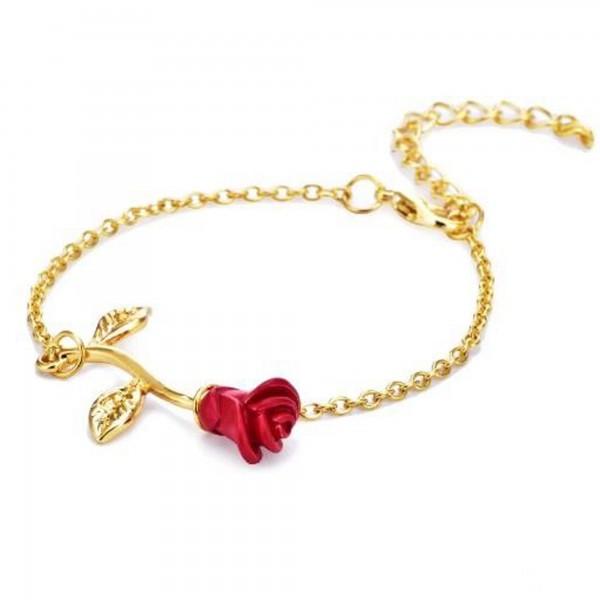 Pigado Aşkın Simgesi Rose Gül Bileklik
