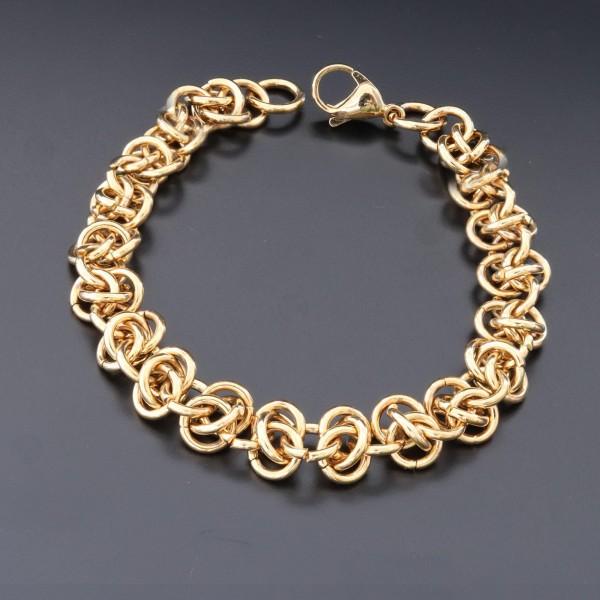 Pigado Altın Kaplama Zincir Bileklik