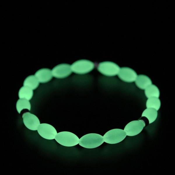 Pigado Gece Parlayan Yeşil Fosforlu Kedigözü Bileklik