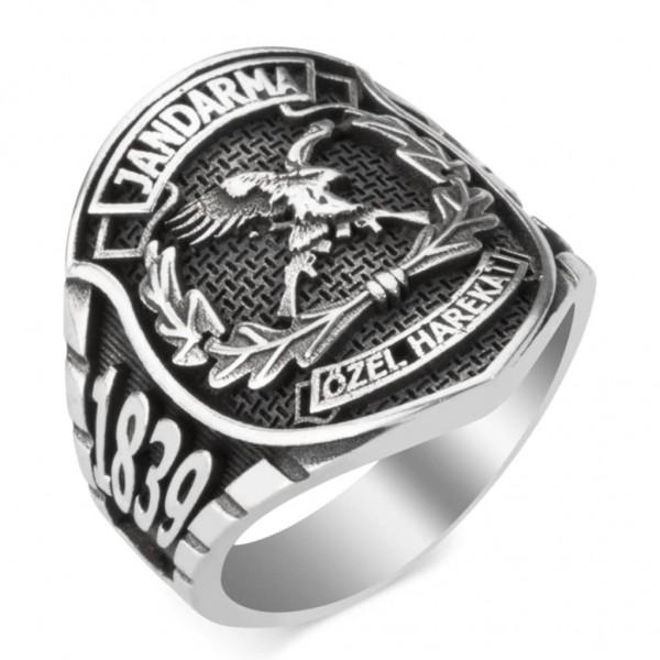 Taşsız Jandarma Özel Harekat (JÖH) Yüzüğü