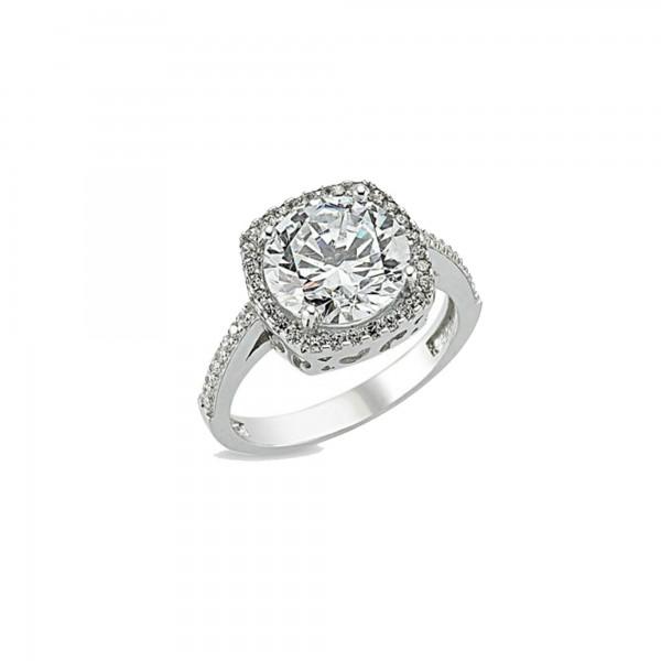 925 Ayar Gümüş Starlight Diamond Bayan Yüzük