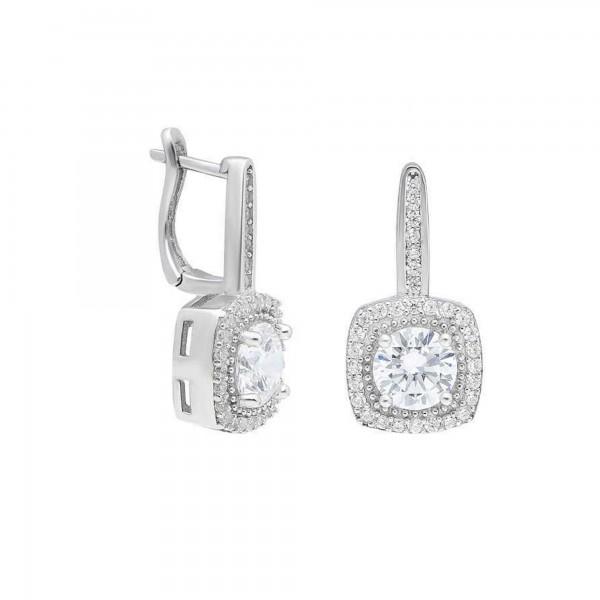 925 Ayar Gümüş Zirkon Taşlı Starlight Diamond Bayan Küpe