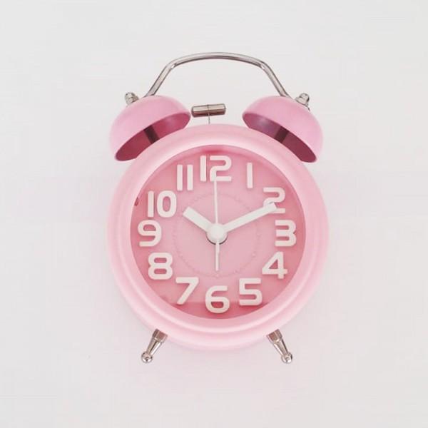 Işıklı Renkli Alarmlı Masa Saati