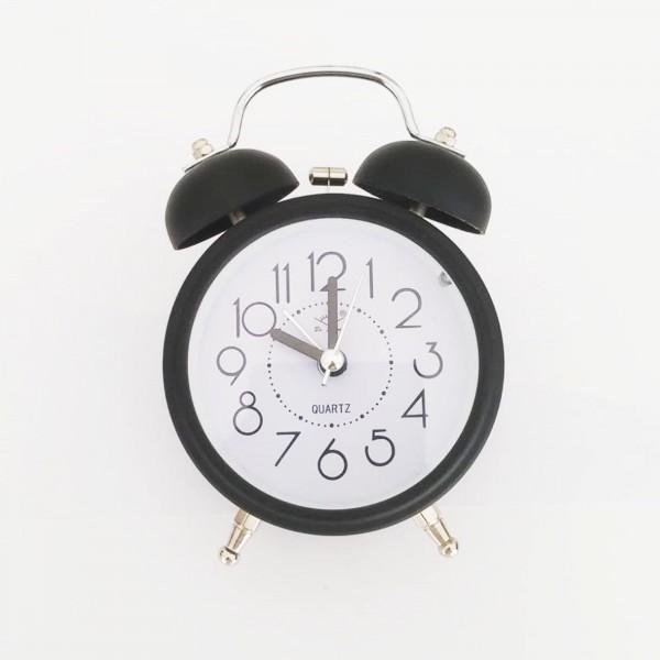 Metal Alarmlı Masa Saati