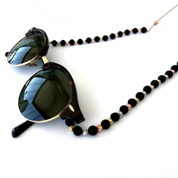 Özel Tasarım Doğal Taş Havlit Dorika Taşlı Gözlük Zinci...